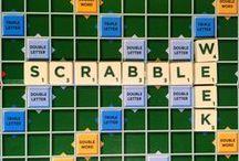 Scrabble-tastic / Collins Scrabble Dictionary board