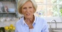 Food | Great British Bake Off / Who doesn't love the Great British Bake Off?  We're avid fans of food and the wonderful Mary Berry.  Now, what to bake?