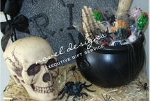 Halloween Gift Baskets, Gifts & Decor / Halloween gift baskets delivered to all businesses, hotel/casinos, resorts & residential addresses in Las Vegas, North Las Vegas, Henderson, Green Valley, Boulder City & Summerlin.  Nationwide shipping. / by Novel Designs Executive Gift Service