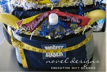Custom Theme Gift Baskets / Custom designed theme gift baskets delivered to all businesses, hotel/casinos, resorts & residential addresses in Las Vegas, North Las Vegas, Henderson, Green Valley, Boulder City & Summerlin.  Nationwide shipping. / by Novel Designs Executive Gift Service