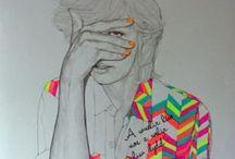 I love illust / by Mia Yun