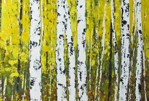 Birches and aspens