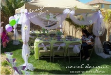 Novel Designs Custom Parties & Events / Custom Event Centerpieces, Tablescapes, Place Settings, Favors, Gift Bags & More. Birthdays, Weddings, Anniversaries, Bachelorette, Corporate, Graduation, Holiday & More. Professional party stylists Las Vegas/Henderson, NV. / by Novel Designs Executive Gift Service