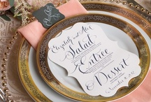 Table Scapes & Place Settings / by Novel Designs Executive Gift Service