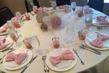 It's A Girl Baby Shower / Girl Baby Shower, shades of pink