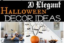 Spooky Spaces / Halloween decorations and more.