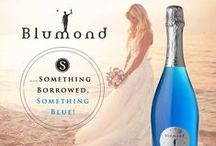 My Blue Sparkling Wedding / Searching for something blue for your wedding day toast? #FratelliSaraceni #Blumond adds the perfect sparkle to your day! Italian Blue Bubbly made with an added flavor of fresh, sweet peach.  Something unique... #SomethingBlumond