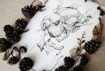 Illustration / Illustrations by artist and designer Emelie Jensen