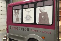 Revolution Sole on a roll-the fashion bus! / its all about footwear, clothing and anything else we can stuff in our bus