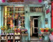 Blumen-Läden / Die schönste Läden sind für mich die Blumenläden :-)