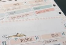 Time for Watercolor Stickerating / Pretty planners pictures with watercolor stickers