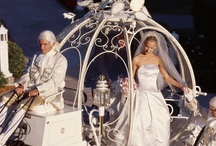 Disney Weddings / Dreams can come true!    Actual photo shoots from Disney weddings: the cakes, gowns, flowers, and locations.  Inspiration, ideas, and tips for your own wedding ... whether you want to actually have it at Disney World, Disneyland, on a Disney cruise ... or at home!