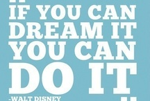 Great Disney Quotes / Memorable, profound, and funny quotes from Disney movies, characters, fans, and from Walt Disney himself.