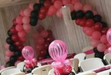 ARCHES OF BALLOONS / DESIGNS MADE WITH BALLOONS