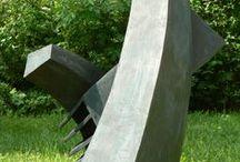 outdoor ceramic sculptures / ceramic sculptures