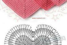 Crocheteando / Tejidos trabajados en el arte del ganchillo