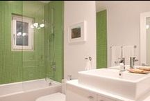 The Orange Bathroom / Remodeling our bathroom in Orange now