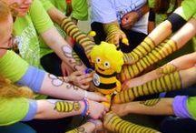 Arboretum Inspiruje / Zobacz jak gimnazjaliści działają na rzecz Przyrody. W tegorocznej edycji projektu pomagamy pszczołom z Kujawskim