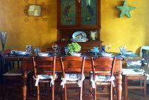 Table/ mise en place/ tavole