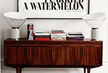 Sideboards , buffets , consoles