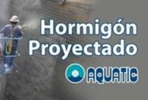 Hormigón Proyectado / Hormigón Proyectado AQUATIC® construye con hormigón proyectado en 1973 http://aquaticproyect.com/hormigon-proyectado/