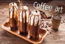 Coffee art / Kawa w pięknym wydaniu.