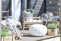 - house and garden -
