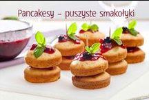 Pancakesy - puszyste smakołyki / #frużelina #mniam #słodkości #pancakes #smacznastrona #tesco #przepisy