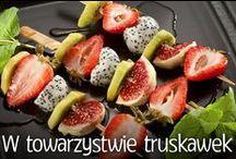 Truskawki w roli głównej / #smacznastrona #poradyTesco #przepisyTesco #truskawki #przepisy #mniam #food #strawberries