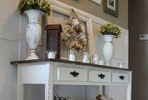 Déco / coup de coeur pour un meuble ou une pièce , idée de base pour redécorer sa maison ..