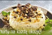 Słodkie torty / #smacznastrona #przepisytesco #poradytesco #tort #deser #sweet