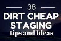 Staging Ideas / by Stacie Mills Weber
