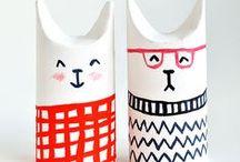 ★ ReciClatge - recyCling ★ / Dede petitsgransartistes.blogspot.com.es, una propuesta de manualidades creativas y económicas.