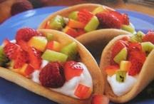 desserts and yummy treats