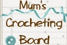 Mum's Crocheting Board / All things crocheted. From Babies Rugs to Bags, as long as it's crocheted, it's here. She tries to have the best links, and free patterns. Also, Mum's own creations are pinned here. What an awesome Granny!  / by Alisha And Leighann
