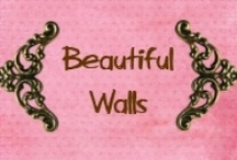 Beautiful Walls / Wall paper, tiles, paint... oh what to choose?