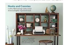 Us & Country Living Magazine / In association with our friends at CL magazine! Some of our pieces have been spot-lighted within their pages and CL fairs!