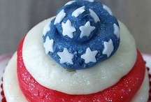 4th of JULY / 4th of July, Memorial Day decorating, recipes and party ideas