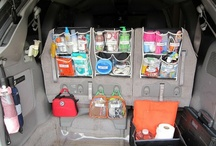 ORGANIZE: CAR / Tips and DIY projects to keep your car clean and organized while on the go