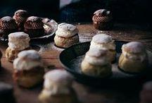 Delectable Desserts / Ice cream, cookies, donuts, brownies, sprinkles....