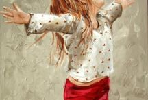 Art with Dance Flair ♪♫•*¨*•.¸¸♫♪ / Capturing with the art brush the flow of dance.