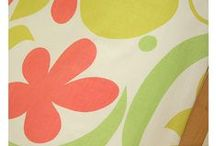Summer Fabrics / Get your home ready for summer with a slipcover in one of these fun summer fabrics.
