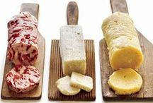 Cheese, sour cream, nut milk, butter, yogurt... / Homemade cheese, nut milk, butter, cheeses, condiments. / by Savath Kilburn