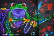 Street Art, Graffiti and Art on The Wall