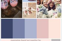 COLORS | inspiration for wedding colors / Trends are great but your favorite color is better!