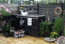 Outdoor kitchen / Utekök outdoor kitchen