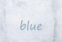 blue •*¨*•.¸¸♥