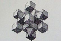 geometrical art / sacred geometry
