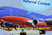 Referral Contest / We will award someone with the most referrals from Now to May 31, 2015.  Please visit us at www.CrazyForMiles.com for more details.