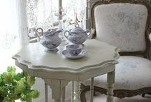 Swedish Home / Simple And Beautiful Decor, Embroideries, Accents, Homes And Interiors